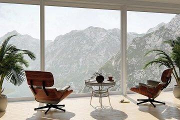 apartament okno